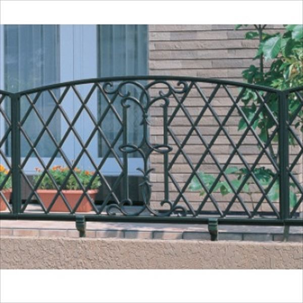 三協アルミ 鋳物フェンス キャスモア6型 本体 1008 フリー支柱タイプ 『アルミフェンス 柵』
