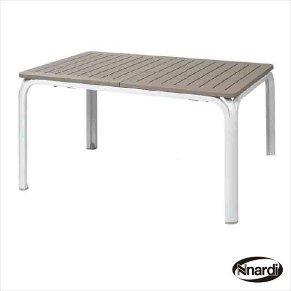 タカショー ナルディ アロロ アロロテーブル NAR-T04M #32873400 『ガーデンテーブル』 モカ