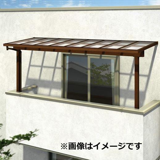 YKK ap サザンテラス フレームタイプ 2階用 関東間 600N/m2 3.5間×4尺 (2連結) ポリカ屋根