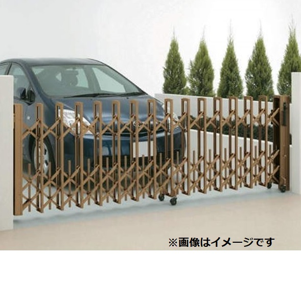 四国化成 ニューハピネスHG ペットガードタイプ 両開き 840W H10 『カーゲート 伸縮門扉』