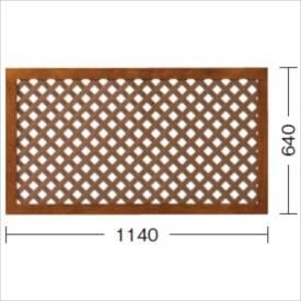 タカショー e-プライバシーNパネル(S) W1140×H640mm 『ラチス 木調フェンス 柵』