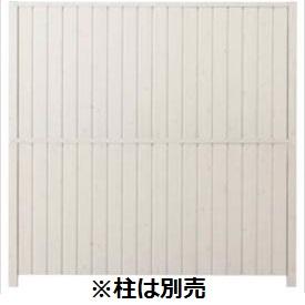 タカショー シンプルログユニット1型パネル (H1860タイプ) 片面 『木調フェンス 柵』