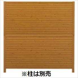タカショー シンプルログユニット4型パネル (H1892タイプ) 片面 『木調フェンス 柵』
