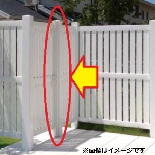 タカショー ロイヤルフェンスオプション 127角柱3型 センター RFHK-B3S #15977200 『樹脂フェンス 柵』