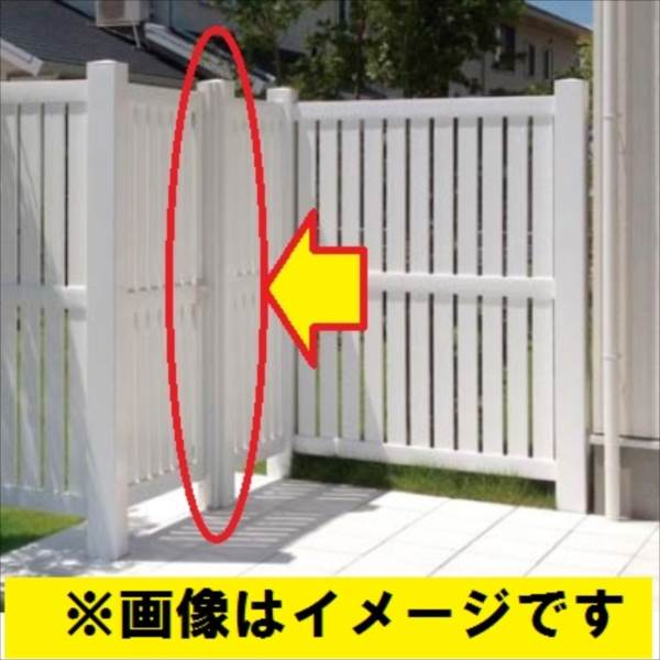 タカショー ロイヤルフェンスオプション 127角柱4型 センター RFHK-B4S #15978900 『樹脂フェンス 柵』