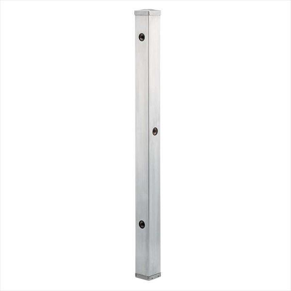 カクダイ 水栓柱(ステンレス) ステンレス水栓柱 分水孔つき(60角) 624-114 『水栓柱・立水栓 蛇口は別売り』