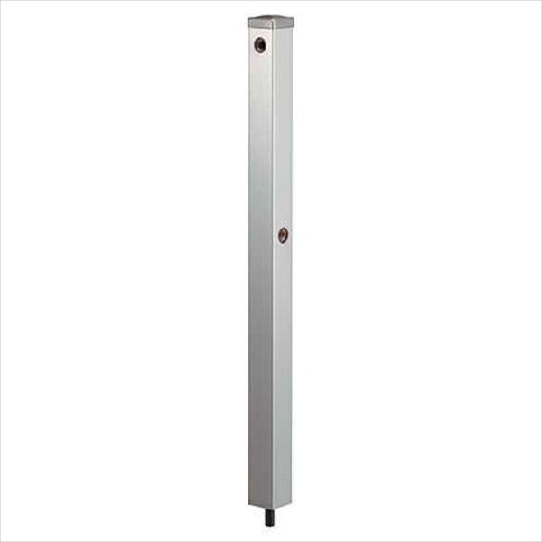 カクダイ 水栓柱(ステンレス) ステンレス水栓柱 分水孔つき(60角) 624-124 『水栓柱・立水栓 蛇口は別売り』