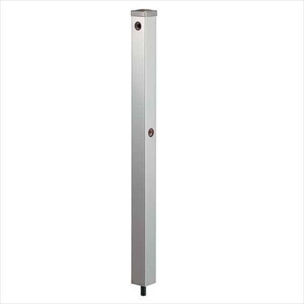 カクダイ 水栓柱(ステンレス) ステンレス水栓柱 分水孔つき(60角) 624-125 『水栓柱・立水栓 蛇口は別売り』