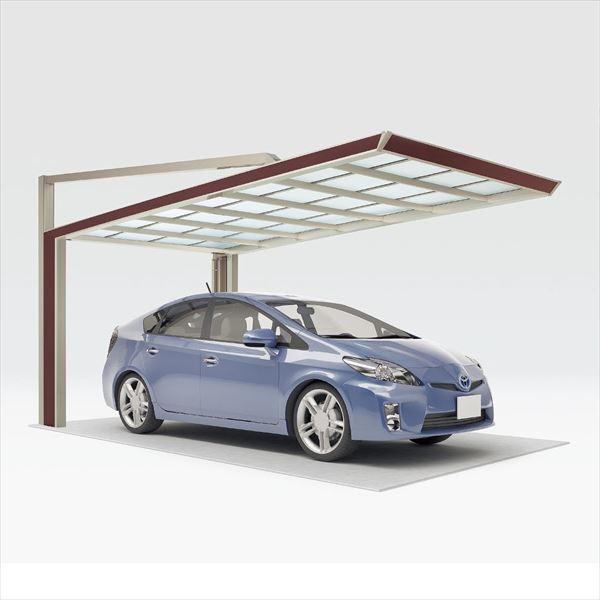 『個人宅配送不可』 四国化成 マイポート Next 標準高 2341 基本セット 『アルミカーポート 自動車屋根』『マイポートネクスト』 *商品画像はイメージです 木調タイプ