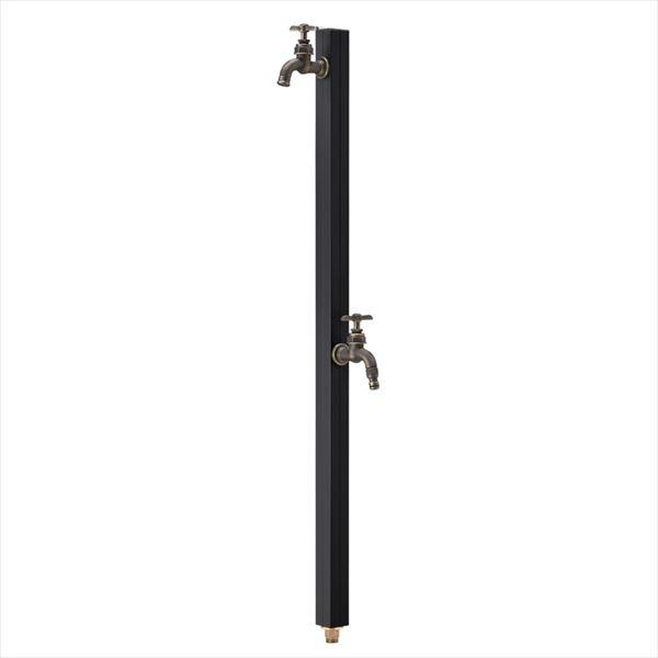 オンリーワン アクアルージュアンティークW TK3-SCWB 『水栓柱・立水栓セット(蛇口付き)』 マットブラック
