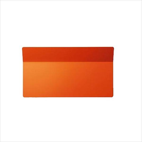 送料無料 トーヨー シンプルでスタイリッシュな埋め込み式のポストです 東洋工業 プリート オレンジ TOYO 即納 お気に入 郵便ポスト PREATO