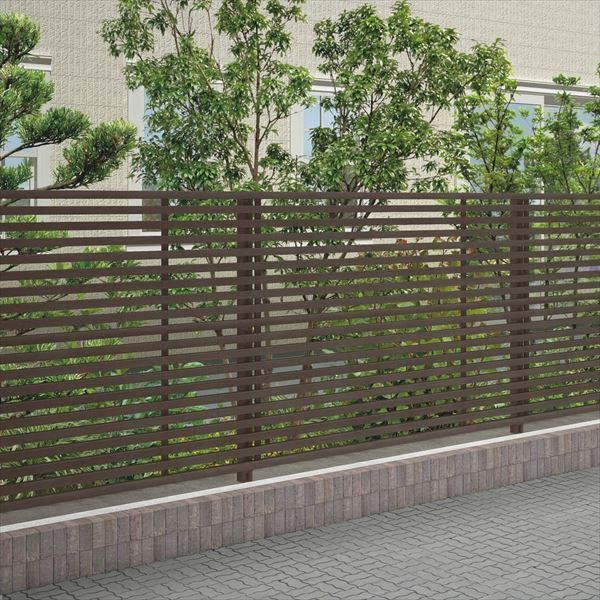 四国化成 スクリーンフェンス アレグリアフェンスTL3型 本体 AGTL3-1620 『アルミフェンス 柵』 セピアブラウン