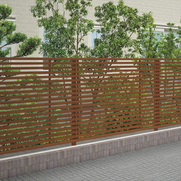 四国化成 スクリーンフェンス アレグリアフェンスTL3型 本体 AGTL3-2020 『アルミフェンス 柵』 マロンブラウン