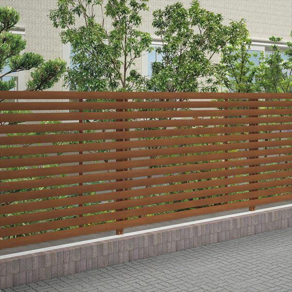 四国化成 スクリーンフェンス アレグリアフェンスTL4型 本体 AGTL4-1620 『アルミフェンス 柵』 マロンブラウン