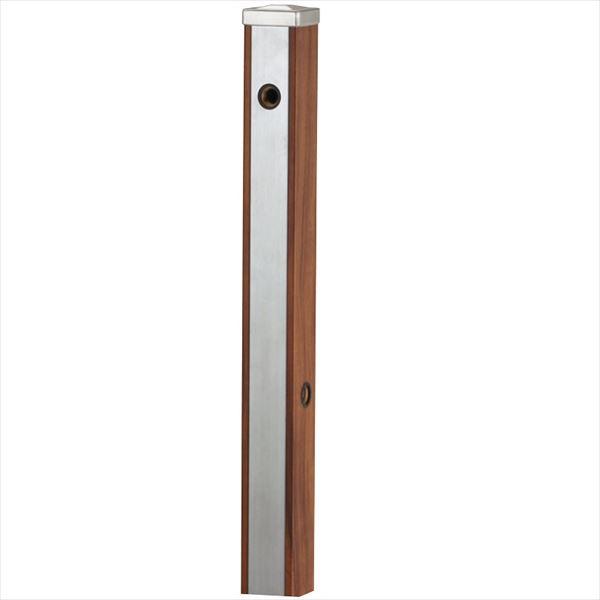ユニソン スプレスタンド70 立水栓 (蛇口は別売です) 『水栓柱・立水栓 オプション』 ウッドブラウン