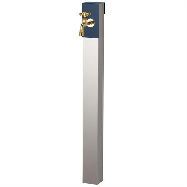 ユニソン リーナアロン 950スタンド シングル 蛇口(ゴールド)1個セット 上部蛇口 シングル付 『立水栓セット(蛇口付き)』  ミッドナイトブルー