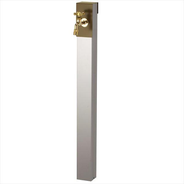 ユニソン リーナアロン 950スタンド シングル 蛇口(ゴールド)1個セット 上部蛇口 シングル付 『立水栓セット(蛇口付き)』  オリーブドラブ