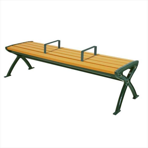 ミヅシマ工業 セパレートベンチSB1 背無し SB1-LC 244-0071 『ガーデンベンチ・公共向け』