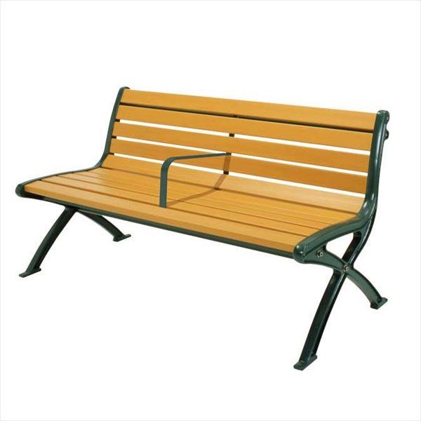ミヅシマ工業 セパレートベンチSB1 背付 SB1-SW 244-0072 『ガーデンベンチ・公共向け』