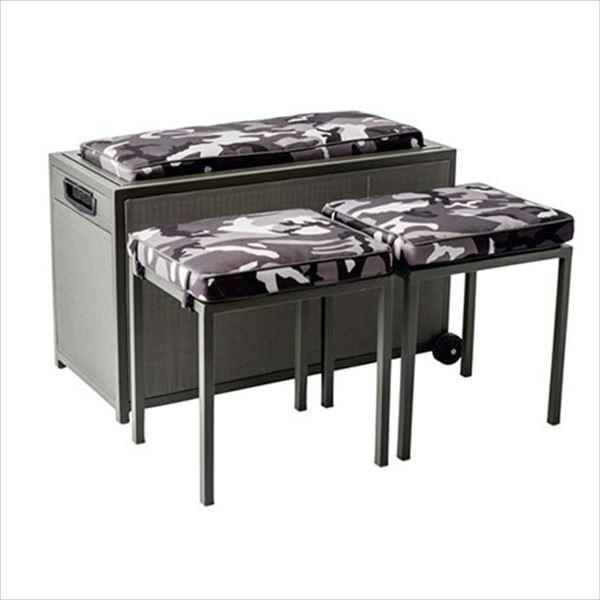 杉田エース パティオ・プティ ドロワー テーブル×1、ボックス×1セット DRAWER 『ガーデンテーブルセット ガーデンファニチャー』