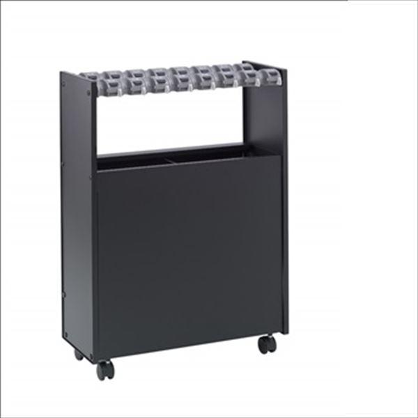 テラモト コンパクトなロック式傘立 ストアスタイル 傘立 Case16 カードロック式 16本収納 UB-271-316-0