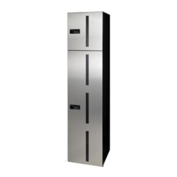 田島メタルワーク マルチボックス MULTIBOX GX-D1W 中型荷物用/ゴルフバッグ用(脱出レバー付) ステンレス 『集合住宅用宅配ボックス マンション用』
