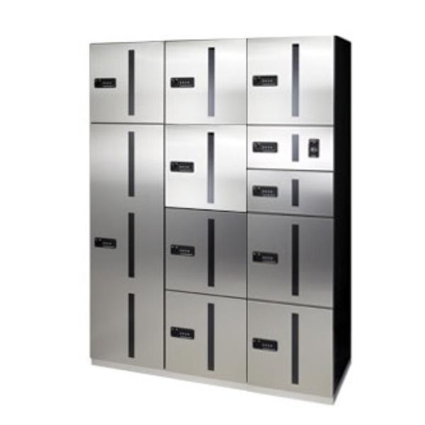 田島メタルワーク マルチボックス MULTIBOX GX-DW ユニット組み合わせセット2 30~50世帯向/2列9BOX ステンレス 『集合住宅用宅配ボックス マンション用』
