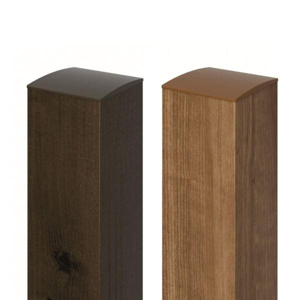 三協アルミ 柱を木調にすれば セミクローズ外構などにも使いやすい 最安値に挑戦 フレイナ門扉 オプション 単体購入不可 門扉本体と同時購入価格 木調門柱加算額 チープ H=1200用