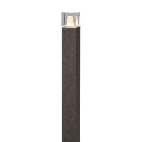 タカショー エバーアートポールライト 6型 100V 拡散光 ガラスブロック HFD-D64R #75116700 ラスティコッパー
