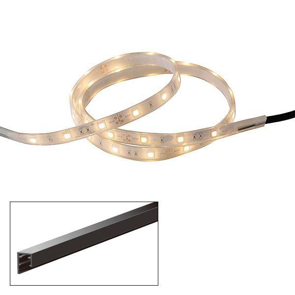 タカショー フレキシブルLEDバー 1000 レール付 HAC-D18T #75149500 『ローボルトライト』 『エクステリア照明 』 電球色