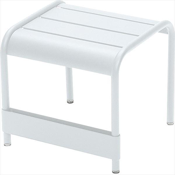 ニチエス FERMOB フェルモブ ルクセンブールテーブル 42×43 01ホワイト