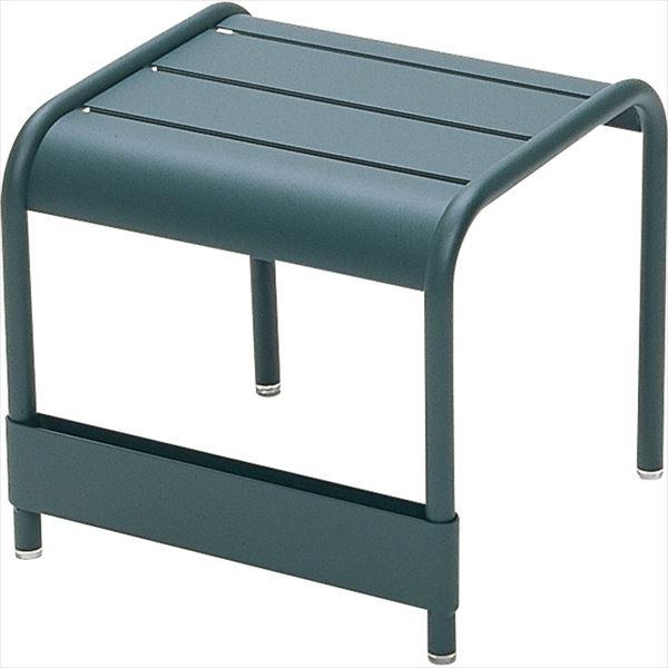 ニチエス FERMOB フェルモブ ルクセンブールテーブル 42×43 02シダーグリーン