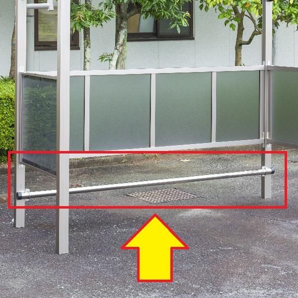 大仙(ダイセン) 自転車スペース オプション 車止め 間口24用