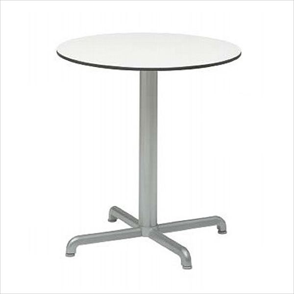 送料無料【タカショー】骨組みがアルミなので、錆びに強いテーブル タカショー カリス ラウンドテーブル NAR-T08W #33329500 『ガーデンテーブル』 ホワイト