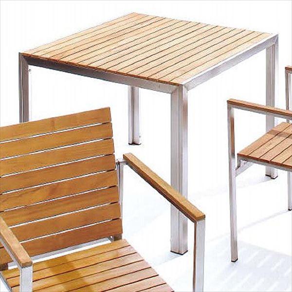 『テーブル以外は別売です』 タカショー ライズ テーブル 900 TRD-156T #33890000 『ガーデンテーブル』 ブラウン