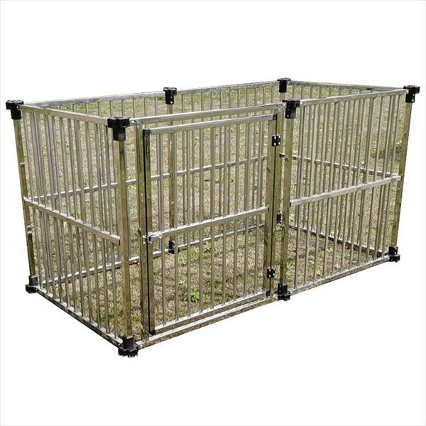 メタルテック ステンレス製マルチサークル DFS-C1 (0.5坪タイプ)  『屋外用動物小屋 犬小屋』
