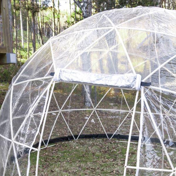 オンリーワン オンリーワンキャンプ  オプション スカイコテージ 交換クリアカバー  スモール  XA3-SC-S  『テント グランピング 温室 庭小屋』
