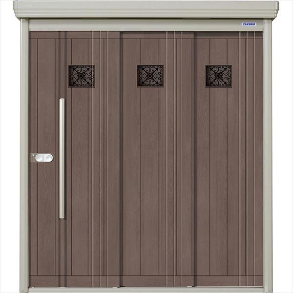 『屋外用 ダンディ タクボ物置 DIY向け 小型物置 木目格子 『追加金額で工事可能』 一般型 収納庫』 P-Z2208A8 P/Mr.ストックマン