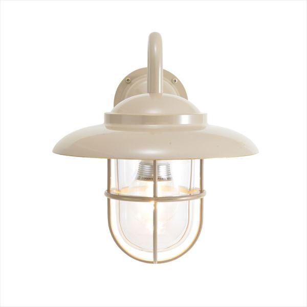 オンリーワン 真鍮製ポーチライト BR5060 クリアーガラス(LED仕様)  アースグレイ GI1-750346  『エクステリアライト 屋外照明』