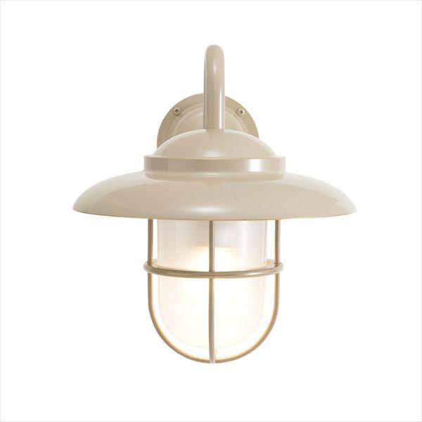 オンリーワン 真鍮製ポーチライト BR5060 くもりガラス(LED仕様)  アースグレイ GI1-750351  『エクステリアライト 屋外照明』