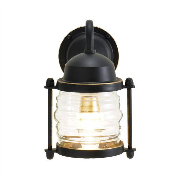 オンリーワン 真鍮製ポーチライト BR1710 クリアーガラス(LED仕様)  ブラック GI1-700477  『エクステリアライト 屋外照明』