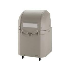 リッチェル ワイドペールST 350 (キャスター付) 『ゴミ袋(45L)集積目安 7袋、世帯数目安 3世帯』 『ゴミ収集庫』 グレー