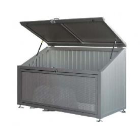 YKKAP ゴミ収納庫 CRステーション 18-08 (床板なし) JSY-A11V 『ゴミ袋(45L)集積目安 21袋、世帯数目安 10世帯』 『ゴミ収集庫』 プラチナステン