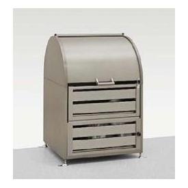 リクシル TOEX ダストックRS型 W800 『リクシル』 『ゴミ袋(45L)集積目安 11袋、世帯数目安 5世帯』 『ゴミ収集庫』 シャイングレー