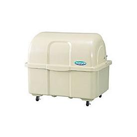 カイスイマレン ジャンボペール HG800C (キャスター付) 『ゴミ袋(45L)集積目安 18袋、世帯数目安 9世帯』 『ゴミ収集庫』 ベージュ