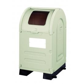 アロン化成 ステーションボックス透明 #300B(固定台座仕様) 『ゴミ袋(45L)集積目安 6袋、世帯数目安 3世帯』 『ゴミ収集庫』 ウォームグレー