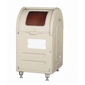 アロン化成 ステーションボックス透明 #300A(アジャスター仕様) 『ゴミ収集庫』 ウォームグレー 『ゴミ袋(45L)集積目安 6袋 3世帯』、世帯数目安 3世帯』 『ゴミ収集庫』 ウォームグレー, ライコウ:baf331c9 --- officewill.xsrv.jp