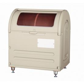 アロン化成 ステーションボックス透明 #500A(アジャスター仕様) 『ゴミ袋(45L)集積目安 11袋、世帯数目安 5世帯』 『ゴミ収集庫』 ウォームグレー