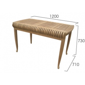 ジャービス商事 カステルテーブル 『ガーデンテーブル』 無塗装