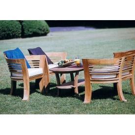 ジャービス商事 ロマンティックテーブル4点セット 『ガーデンテーブルセット』 無塗装